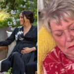 My Celebrity Life – Jenny nods off during Harry and Meghans gripping interview Picture PA jennyandleegogglebox