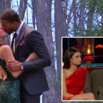 My Celebrity Life – Matt James and Rachael Kirkconnell didnt get to enjoy a fairytale romance after all Picture ABC