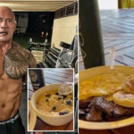 My Celebrity Life – The Rock has revealed hes keeping his muscular physique in check with a strict diet Picture Instagram Dwayne Johnson