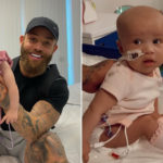 My Celebrity Life – Ashley Cain couldnt hide his pride as his daughter said dadda Picture Instagram