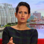 My Celebrity Life – Naga Munchetty has issued an apology for liking tweets that were offensive in nature Picture BBC