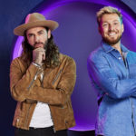 My Celebrity Life – Sam Thompson and Pete Wicks are impersonating Rachel Riley on the show Picture Channel 4 Rachel Joseph