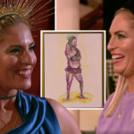 My Celebrity Life – Siobhan posed for artists on Mondays show Picture Channel 4
