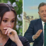 My Celebrity Life – Piers Morgan said he didnt believe Meghans suicidal revelation Picture ITVCBS