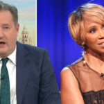 My Celebrity Life – Piers Morgan and Trisha Goddard clashed over Meghan Markles racism claims Picture ITV