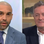 My Celebrity Life – Alex Beresford delivered a lesson in eloquent schooling during his clash with Piers Morgan Picture Rex