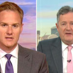 My Celebrity Life – Dan Walker has made his thoughts on Piers Morgan clear Picture BBCITV