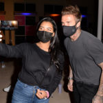 My Celebrity Life – David masked up to take photos with fans after his talk Picture Rex