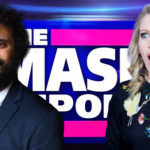 My Celebrity Life – Nish Kumar and Rachel Parris were regular fixtures on The Mash Report Picture BBC