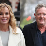 My Celebrity Life – Amanda Holden spoke out in support of her loyal friend Piers Morgan Picture Getty