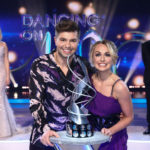 My Celebrity Life – Sonny Jay and Angela Egan celebrate being crowned Dancing on Ice champions 2021 Picture Matt FrostITVREX