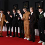 My Celebrity Life – BTS may not have got the Grammy on the night but they were still happy Picture Big Hit Entertainment