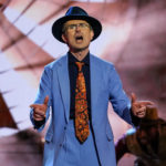 My Celebrity Life – Robert took to the stage on Sunday night Picture PA