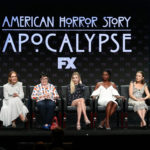 My Celebrity Life – The American Horror story cast and producers talk to the press Picture Getty Images