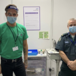 My Celebrity Life – Towie star Bobby Norris left emotional as he completes first day as volunteer vaccinator Picture Instagram