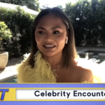 My Celebrity Life – Chrissy Teigen recalls awkward moment she mistook Michael Keaton for a champagne waiter Picture NBC