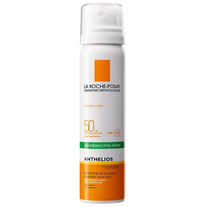 My Celebrity Life – La RochePosay Anthelios AntiShine Sun Protection Invisible SPF50+ Face Mist