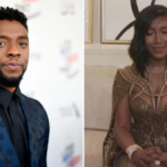 My Celebrity Life – Chadwick Bosemans wife Taylor Simone Ledward had fans sobbing as she tearfully accepted his award Picture GettyNBC