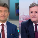 My Celebrity Life – Ben Shephard filled Piers Morgans spot on GMB this morning Picture ITV