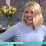 My Celebrity Life – Holly Willoughby couldnt contain her laughter Picture ITV