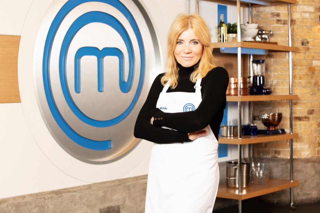 Embargoed to 0001 Thursday April 22 For use in UK, Ireland or Benelux countries only Undated BBC handout photo of Michelle Collins, one of the confirmed contestants for this year's Celebrity MasterChef competition. PA Photo. Issue date: Thursday April 22, 2021. The celebrities hope to follow in the footsteps of last year's winner, author and YouTuber Riyadh Khalaf. See PA story SHOWBIZ MasterChef. Photo credit should read: BBC/PA Wire NOTE TO EDITORS: Not for use more than 21 days after issue. You may use this picture without charge only for the purpose of publicising or reporting on current BBC programming, personnel or other BBC output or activity within 21 days of issue. Any use after that time MUST be cleared through BBC Picture Publicity. Please credit the image to the BBC and any named photographer or independent programme maker, as described in the caption.