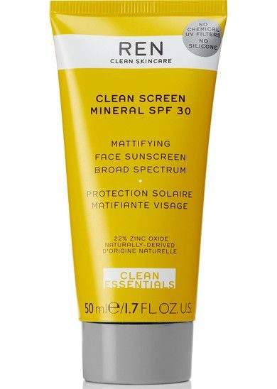 My Celebrity Life – REN Clean Skincare Clean Screen Mineral Mattifying Face Sunscreen SPF 30