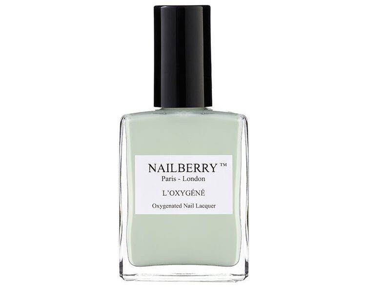 My Celebrity Life – Nailberry Minty Fresh Oxygenated Nail Lacquer