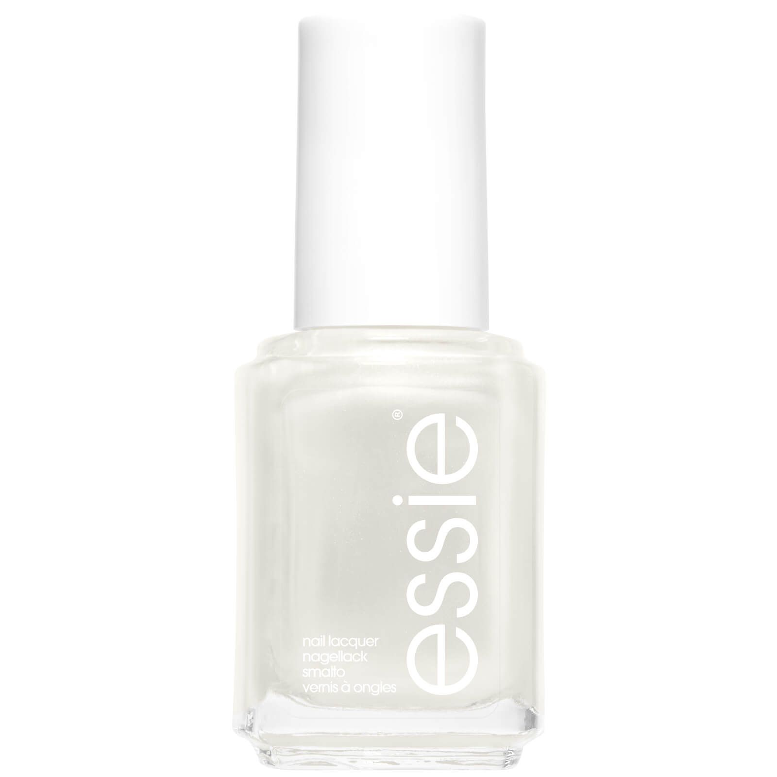 My Celebrity Life – Essie 4 Pearly White Shimmer Nail Polish