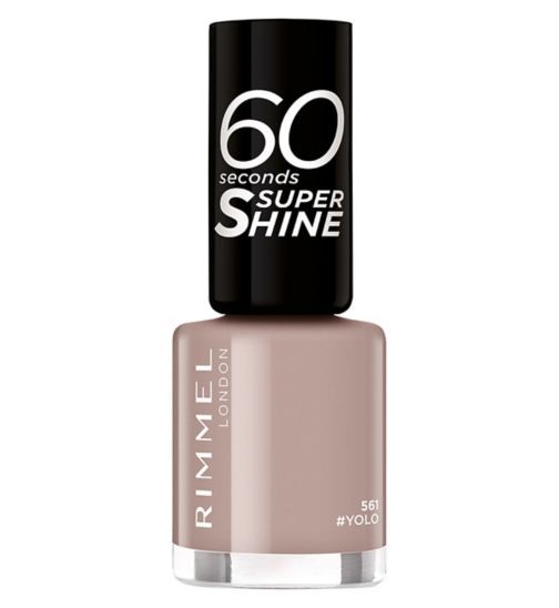 My Celebrity Life – Rimmel 60 Seconds Nail Polish in Yolo