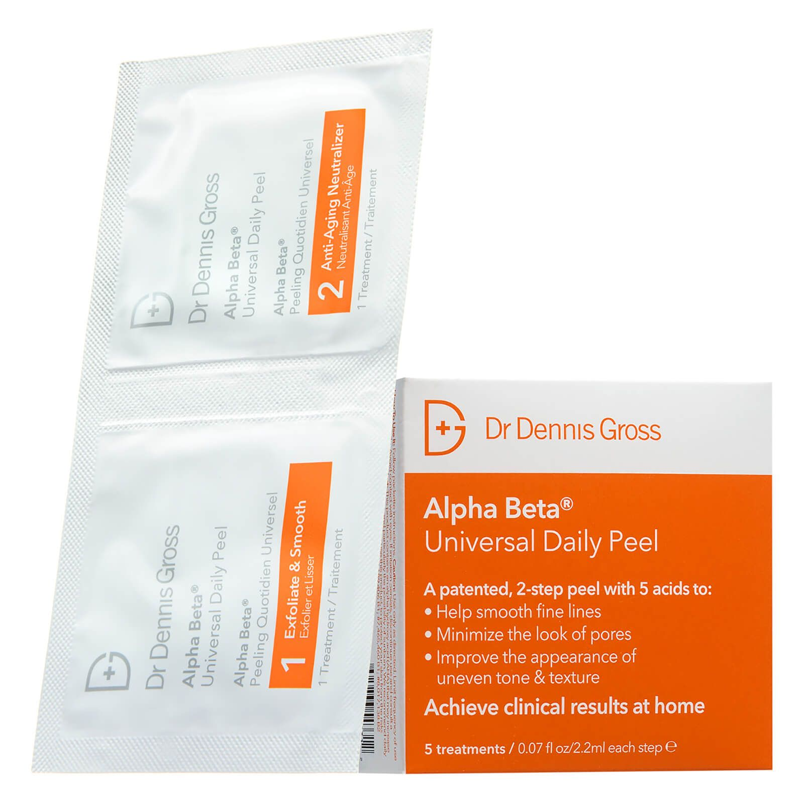 My Celebrity Life – Dr Dennis Gross Skincare Alpha Beta Daily Peel 5 Packettes