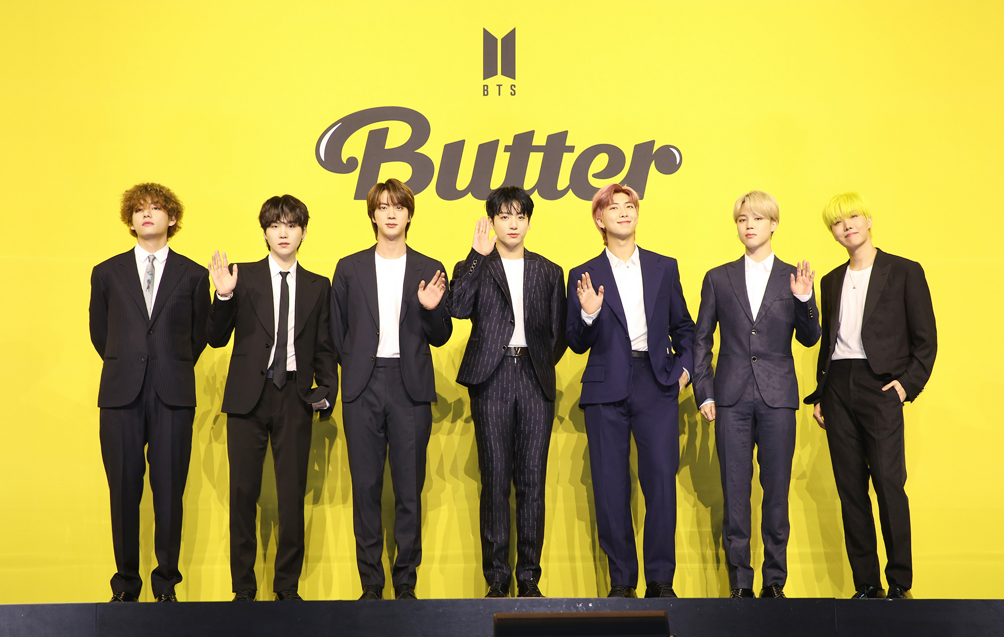 BTS Butter press conference