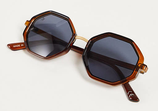 My Celebrity Life – ASOS Jeepers Peepers hexagonal lens sunglasses